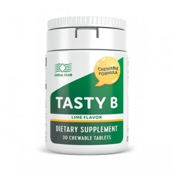 Tasty B tasteful lime (30 chewing tablets)